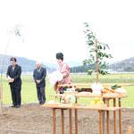 【写真】尊野の家 地鎮祭・起工式