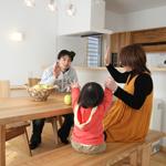 【写真】間田の家 いよいよ完成です