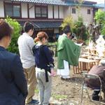 【写真】川並の家 地鎮祭・起工式