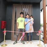 【写真】相撲町の家 お引き渡し式 & 天満の家 社内検査