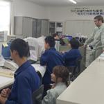【写真】北中学校就労体験4日目