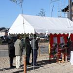 【写真】南田附の家 地鎮祭・起工式
