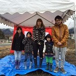 【写真】春照の家 地鎮祭