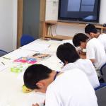 【写真】西中学校の就労体験がありました。