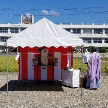 【写真】地鎮祭