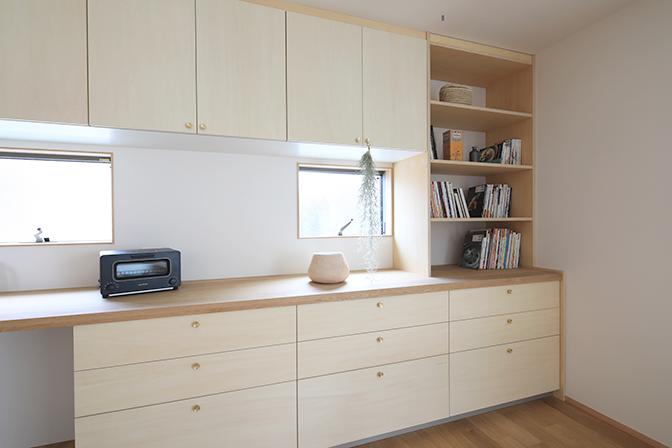 建築実例ギャラリー2 造作キッチン