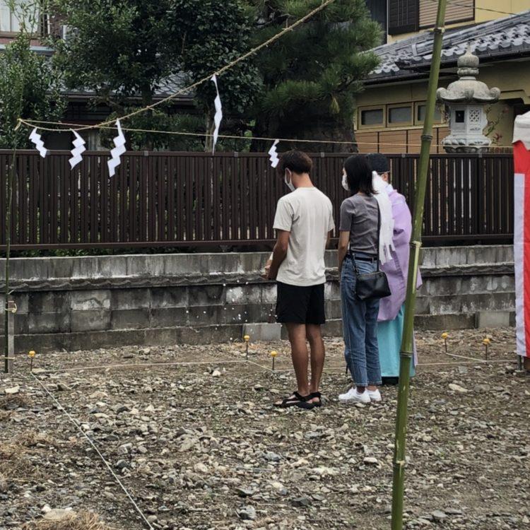 【写真】S様邸地鎮祭