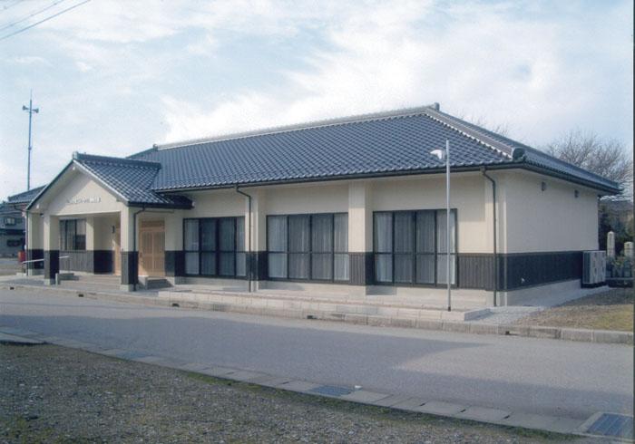 近江母の郷ニュータウン自治会館建築工事