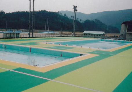 木之本町民プール改修工事