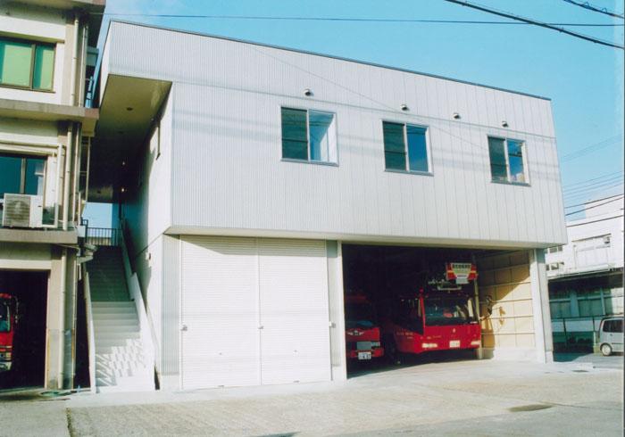 湖北消防組合本部通信指令室増築工事